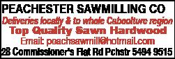 Peachester Sawmilling Co - Timber - Merchants, Sawmillers