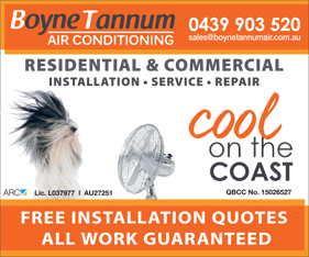 Boyne Tannum Air Conditioning - Air Conditioning - Home