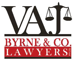 Byrne V A J & Co logo