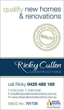 Cullen Ricky Constructions - Cladding