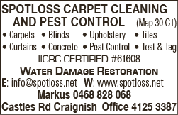 Spotloss Carpet Cleaning And Pest Control - Carpet Cleaning