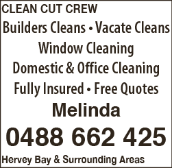Clean Cut Crew - Cleaning - Contractors