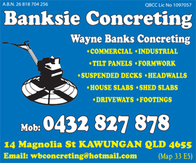 Banksie Concreting - Concrete Cleaning