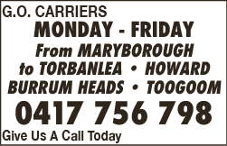 G.O. Carriers - Carriers & Couriers