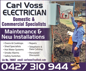 Carl Voss - Electrician - Electricians