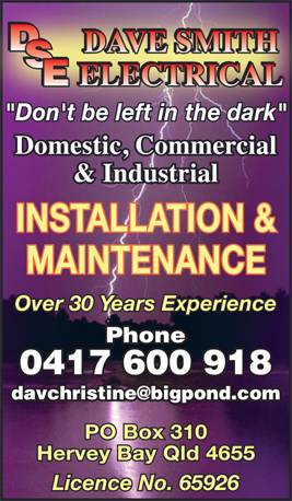 Dave Smith Electrical - Electricians