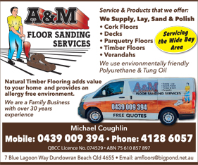 A&M Floor Sanding Services - Floor Polishing