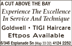 A Cut Above The Bay - Hairdressers - Men's
