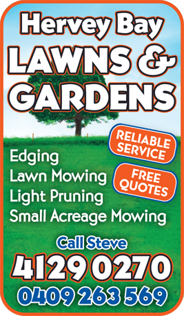 Hervey Bay Lawns & Gardens - Lawn Mowing