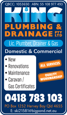 King Plumbing & Drainage P/L - Drainers