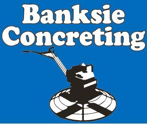 Banksie Concreting logo