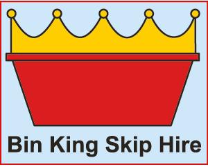 Bin King Skip Hire logo