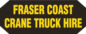Fraser Coast Crane Truck Hire logo