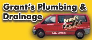 Grant's Plumbing & Drainage logo