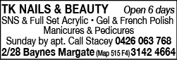 TK Nails & Beauty - Beauty Products