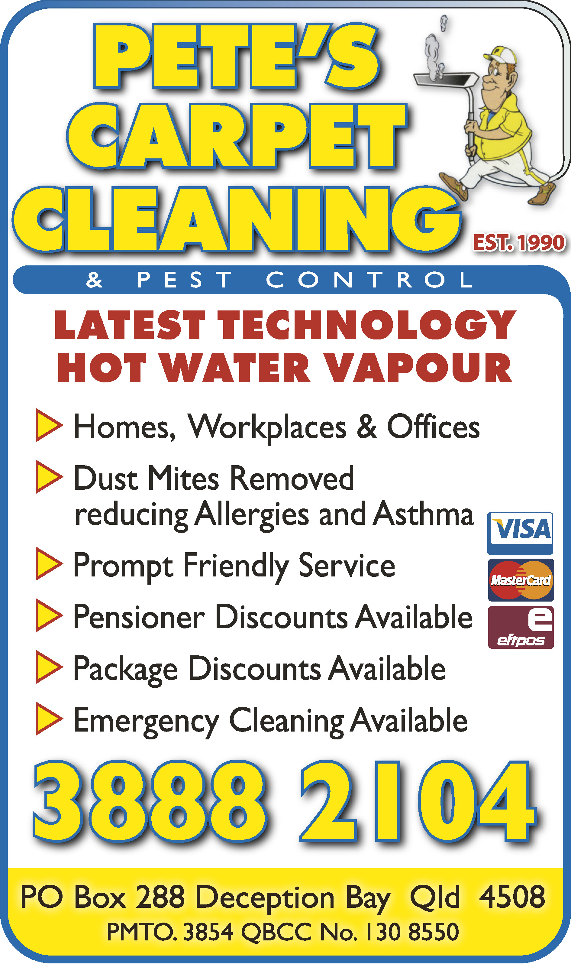 Pete's Carpet Cleaning & Pest Control - Lounge Cleaning