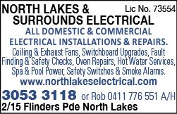 North Lakes & Surrounds Electrical - Electricians