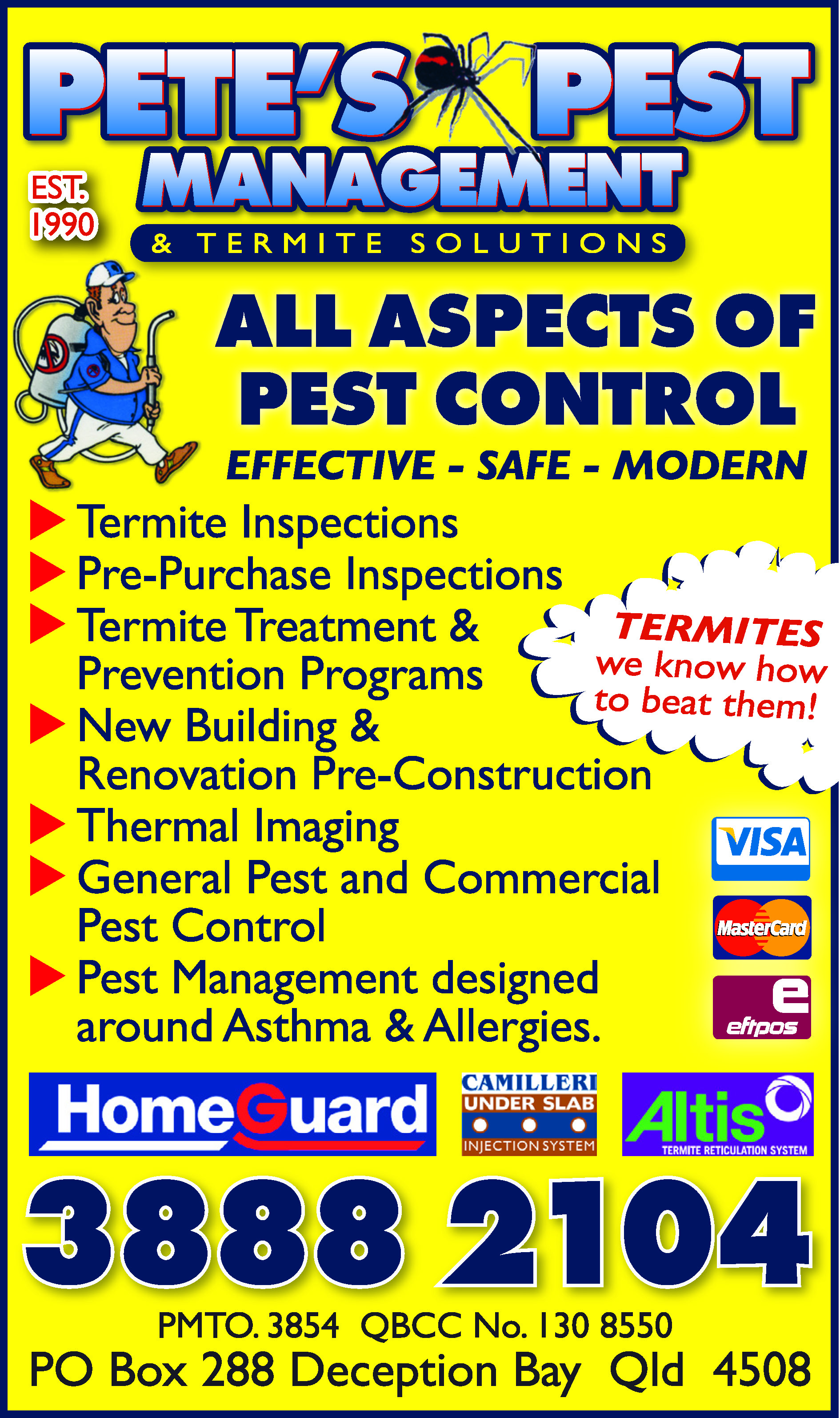 Pete's Pest Management & Termite Solutions - Pest Control