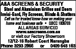 A&A Screens & Security - Doors