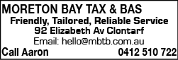 Moreton Bay Tax & BAS - Taxation Consultants
