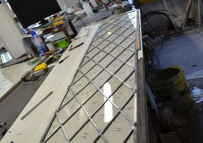 Diamond Glass & Leadlights | Broken glass repair and leadlights in Caboolture and Brisbane | PBezy Pocket Books local directories - image Diamond_Glass_Leadlights_Workshop_2.jpg