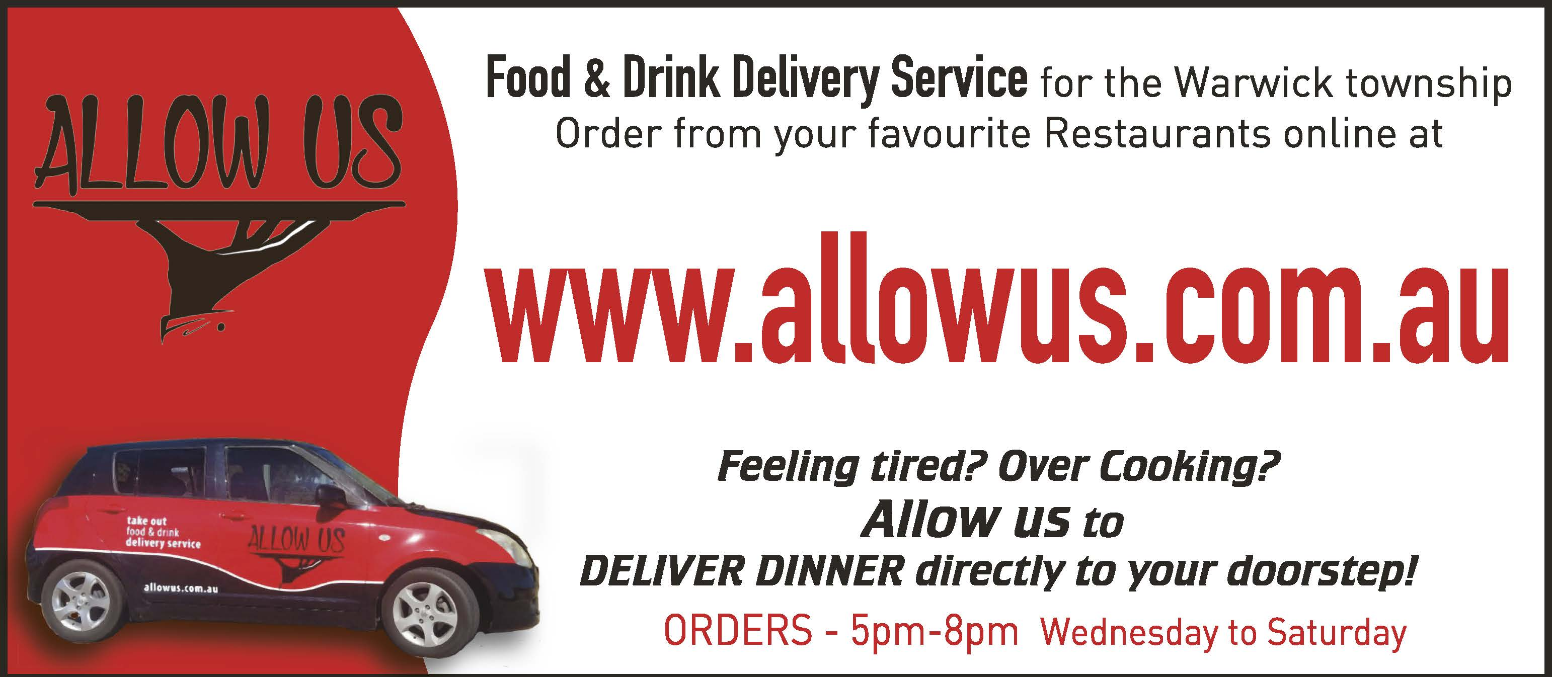 Allow Us | Food Delivery Services in Warwick | PBezy Pocket Books local directories - image web-Allow-Us-WD2.jpg1