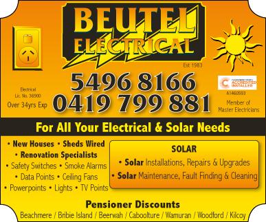 Beutel Electrical - advertisement