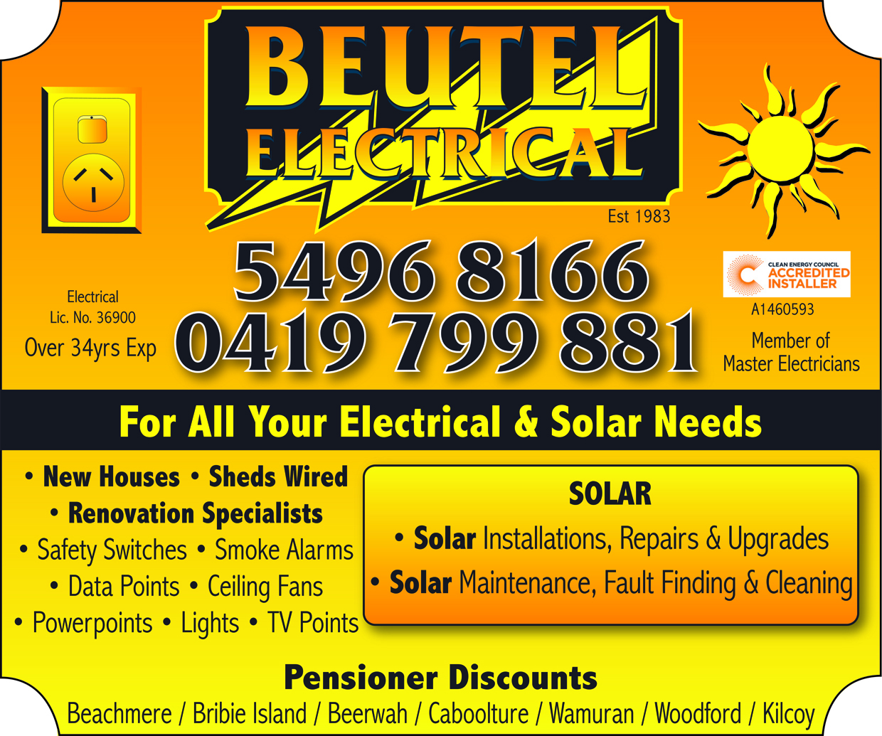 Beutel Electrical - advertisement
