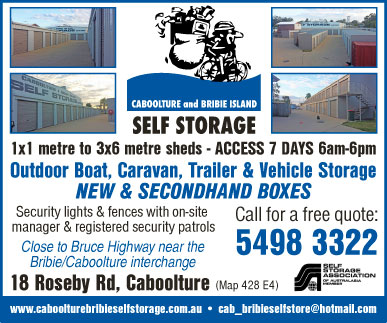 Caboolture & Bribie Island Self Storage - advertisement