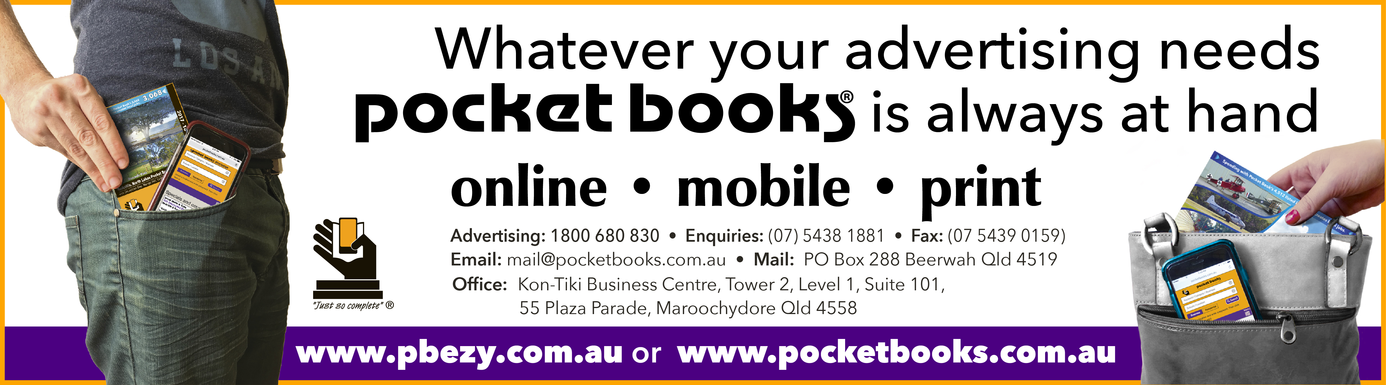 POCKET BOOKS advertisement