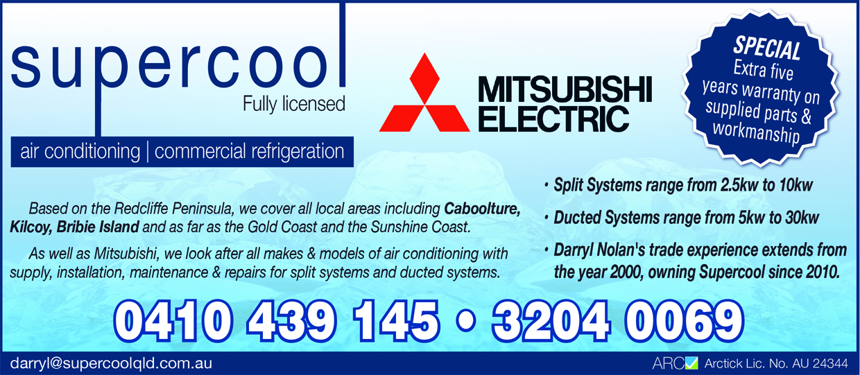 Supercool Air Conditioning | Air Conditioning – Home & Commercial in Deception Bay | PBezy Pocket Books local directories - image web_Supercool_Air_Conditioning_WD2.jpg1
